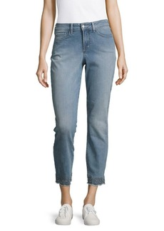 Not Your Daughter's Jeans Faded Cropped Jeans
