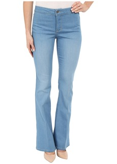 NYDJ Farrah Flare Jeans in Palm Bay Crease