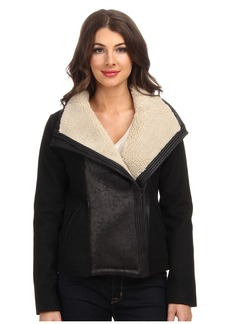 Not Your Daughter's Jeans NYDJ Faux Shearling Moto Jacket