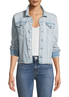 Not Your Daughter's Jeans NYDJ Frayed Denim Jacket