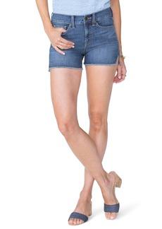 Not Your Daughter's Jeans NYDJ Frayed Hem Jean Shorts (Pampelonne) (Zimbali)