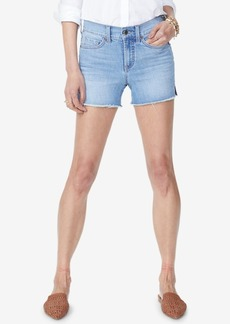 Not Your Daughter's Jeans Nydj Frayed Tummy-Control Denim Shorts