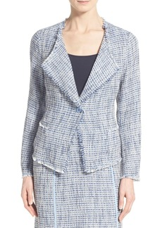 NYDJ Fringe Tweed Jacket