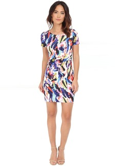 Not Your Daughter's Jeans NYDJ Gabriella Printed Crepe Dress