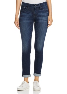 Not Your Daughter's Jeans NYDJ Girlfriend Cuffed Ankle Jeans in Morgan
