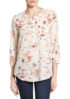 Not Your Daughter's Jeans NYDJ Henley Blouse (Regular & Petite)