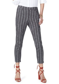 Not Your Daughter's Jeans NYDJ Hidden Drawstring Stripe Crop Pants
