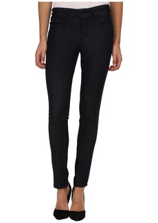 NYDJ Isadora Legging w/ Faux Suede in Dark Enzyme