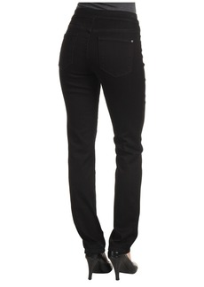 NYDJ Janice Legging Super Stretch Denim in Black