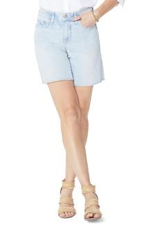 Not Your Daughter's Jeans NYDJ Jenna Frayed Denim Shorts (Palm Desert)