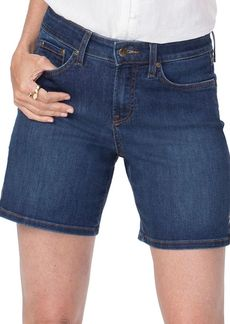 Not Your Daughter's Jeans NYDJ Jenna Mini Side Slit Denim Shorts