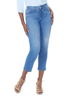 Not Your Daughter's Jeans NYDJ Jenna Straight Ankle Crop Jeans