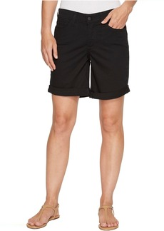 Not Your Daughter's Jeans NYDJ Jessica Boyfriend Shorts in Black
