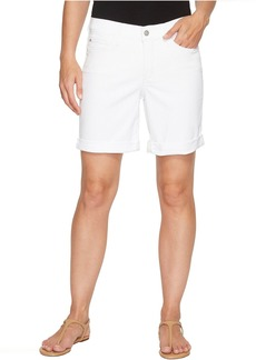 Not Your Daughter's Jeans Jessica Boyfriend Shorts in Optic White