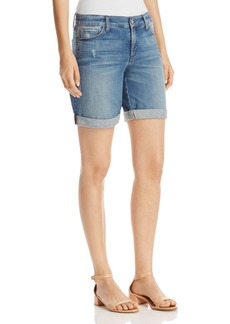 Not Your Daughter's Jeans NYDJ Jessica Boyfriend Shorts in Paloma
