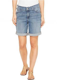 Not Your Daughter's Jeans NYDJ Jessica Boyfriend Shorts in Paloma Rips