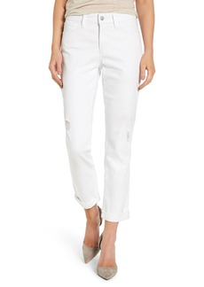 Not Your Daughter's Jeans NYDJ Jessica Destructed Stretch Boyfriend Jeans