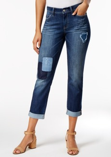 Not Your Daughter's Jeans Nydj Jessica Patched Uzes Wash Boyfriend Jeans