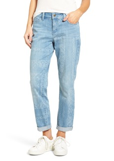 Not Your Daughter's Jeans NYDJ Jessica Print Relaxed Boyfriend Jeans (Bandana) (Regular & Petite)