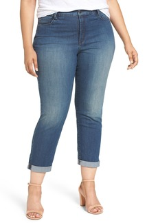 Not Your Daughter's Jeans NYDJ Jessica Relaxed Boyfriend Jeans (Nottingham) (Plus Size)