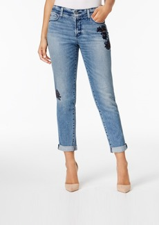 Not Your Daughter's Jeans Nydj Jessica Tummy-Control Embroidered Boyfriend Jeans