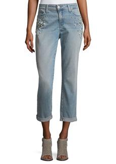 Not Your Daughter's Jeans NYDJ Jewel-Trim Boyfriend Jeans