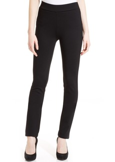 Not Your Daughter's Jeans Nydj Jody Straight-Leg Ponte-Knit Pull-On Pants