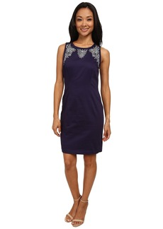 NYDJ Karla Embroidered Shift Dress