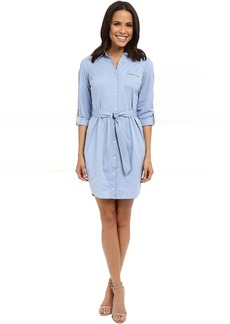 Kaylin Chambray Shirt Dress
