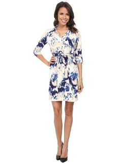 NYDJ Kelsie Vintage Mosaic Shirt Dress