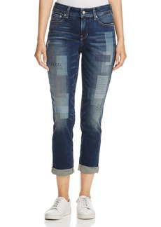 Not Your Daughter's Jeans NYDJ Laser Patch Boyfriend Jeans in Horizon