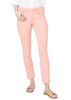 Not Your Daughter's Jeans NYDJ Lasercut Starfish Stretch Slim Ankle Pants (Regular & Petite)
