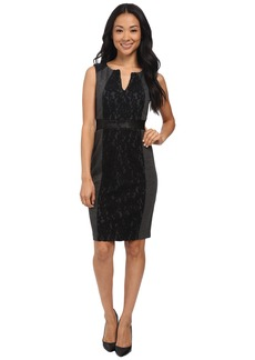NYDJ Lexie Mix Media Dress