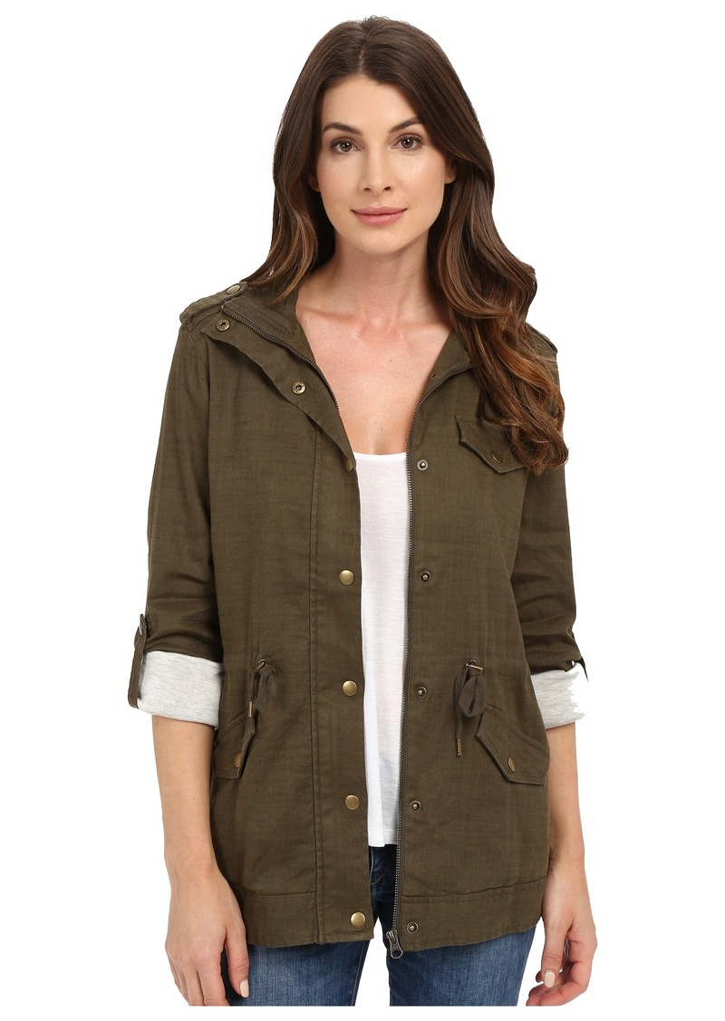 Not Your Daughter's Jeans NYDJ Linen Utility Jacket