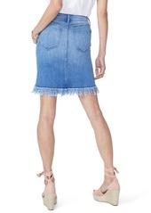 0c3655478c626 NYDJ Long Fray Denim Skirt NYDJ Long Fray Denim Skirt