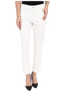 Not Your Daughter's Jeans NYDJ Lorena Boyfriend Jeans in Optic White