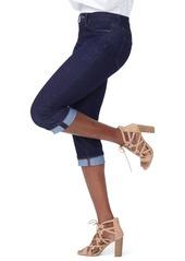 NYDJ Marilyn Crop Cuff Jeans (Rinse)