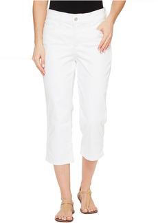 NYDJ Marilyn Crop in Optic White