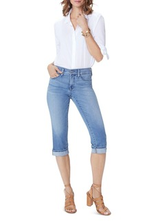 NYDJ Marilyn Cropped Cuffed Jeans in Pacific