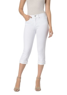 Not Your Daughter's Jeans NYDJ Marilyn Cuffed Crop Jeans in Optic White