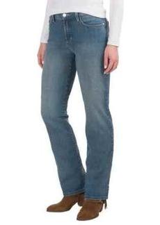 NYDJ Marilyn Lightweight Straight-Leg Jeans - Rhinestone Pockets (For Women)