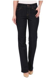 NYDJ Marilyn Straight Jeans in Dark Enzyme