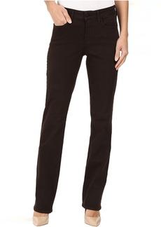 NYDJ Marilyn Straight Jeans in Mahogany