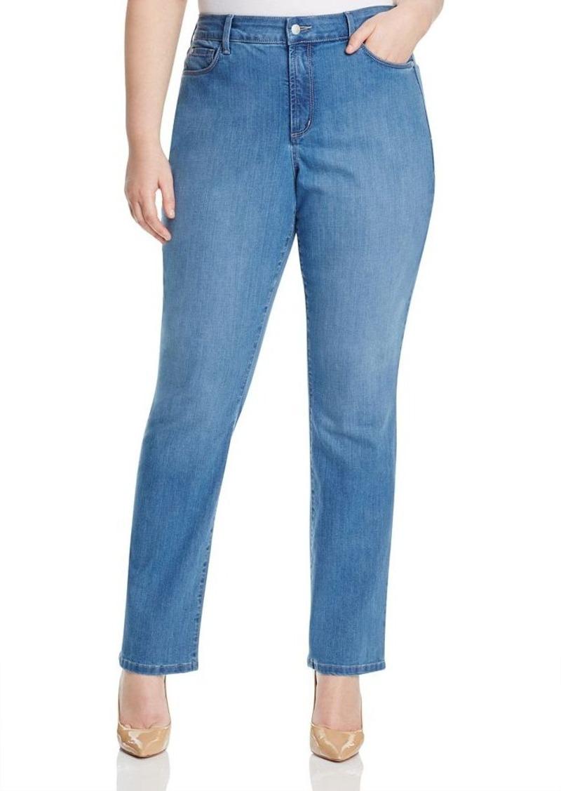 NYDJ Marilyn Straight Leg Jeans in Arabian Sea