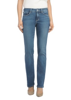 NYDJ Marilyn Straight-Leg Jeans in Heyburn