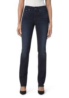 NYDJ Marilyn Straight-Leg Jeans in Sinclair
