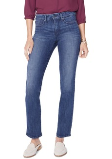 NYDJ Marilyn Straight Leg Jeans (Lupine) (Regular & Petite)