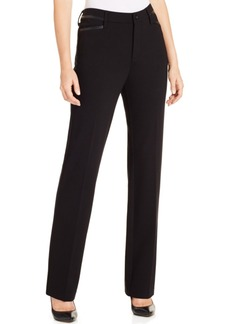 Not Your Daughter's Jeans Nydj Marilyn Straight-Leg Ponte Pants