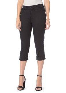 Not Your Daughter's Jeans NYDJ Marilyn Stretch Cuffed Crop Jeans