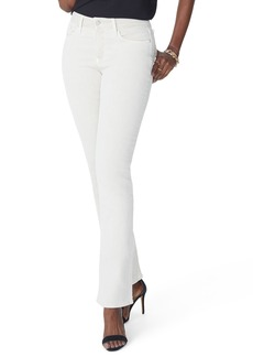 Not Your Daughter's Jeans NYDJ Marilyn Stretch Straight Jeans (Optic White)